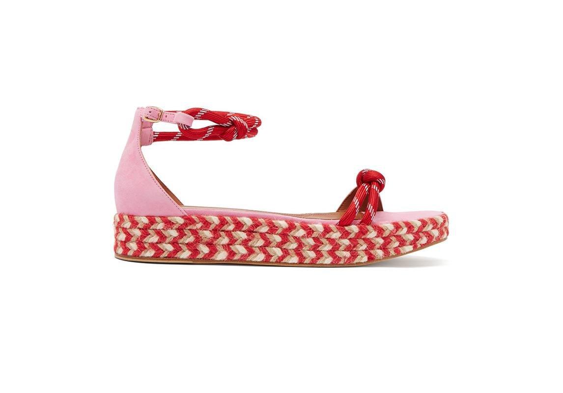 اخر صيحات الموضة ربيع 2019 حذاء تصاميم احذية صندل صنادل صيفية مالون سولييه malone souliers