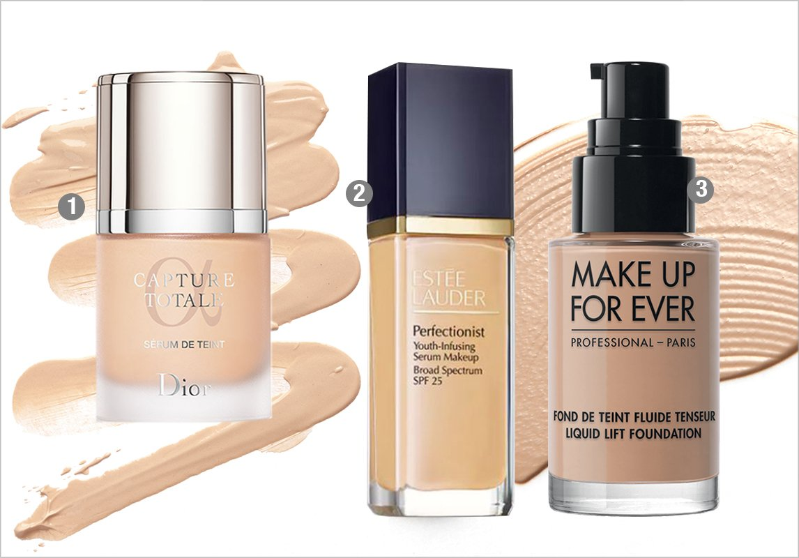 c191d7822bd39 افضل كريم اساس 1- DIOR Capture Totale Triple Correcting Serum Foundation