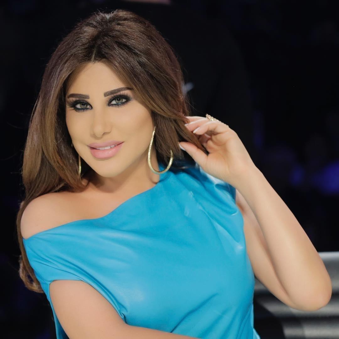 f81ba7ea6 مجلة زهرة السوسن - إطلالات نجوى كرم في الموسم السادس من Arabs Got Talent