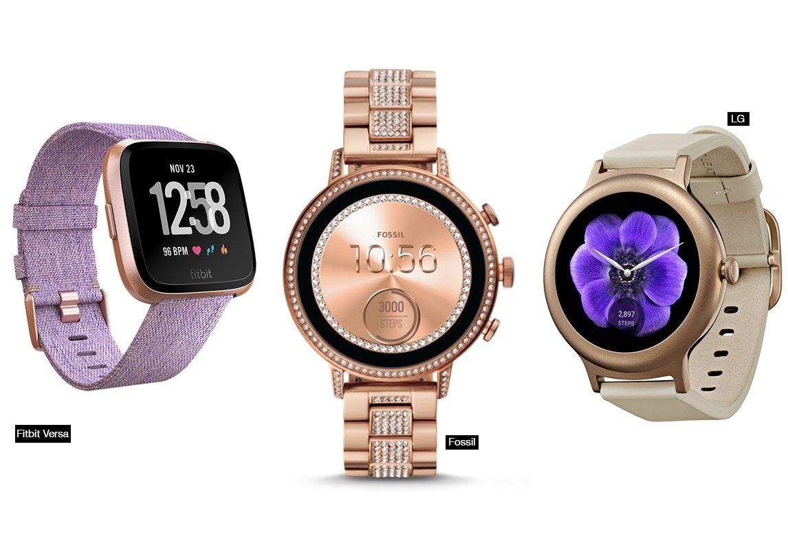 c9bb68634 أرادت بعض العلامات التجارية إرضاء ذوق المرأة وحسّها للموضة من خلال إصدار  ساعات ذكية ذات تصاميم فريدة، فيها الكثير من الأنوثة. استوحي من ساعات Fitbit  Versa ...