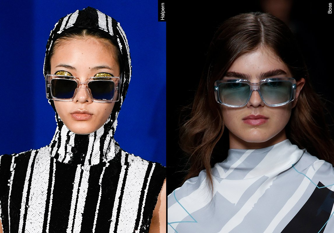 3530d5681aa42 ... اشكال نظارات شمسية نسائية ربيع 2019 موضة ماركات النظارات hugo boss  halpren هيوغو بوس هالبرن