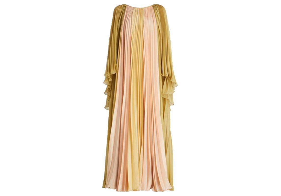 Alberta Ferretti البيرتا فيريتي فساتين سواريه للمحجبات ازياء محجبات فستان سواريه للمحجبات