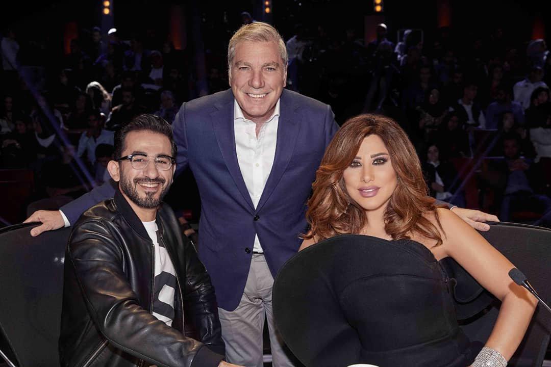 20076038b0d18 مجلة زهرة السوسن - إطلالات نجوى كرم في الموسم السادس من Arabs Got Talent