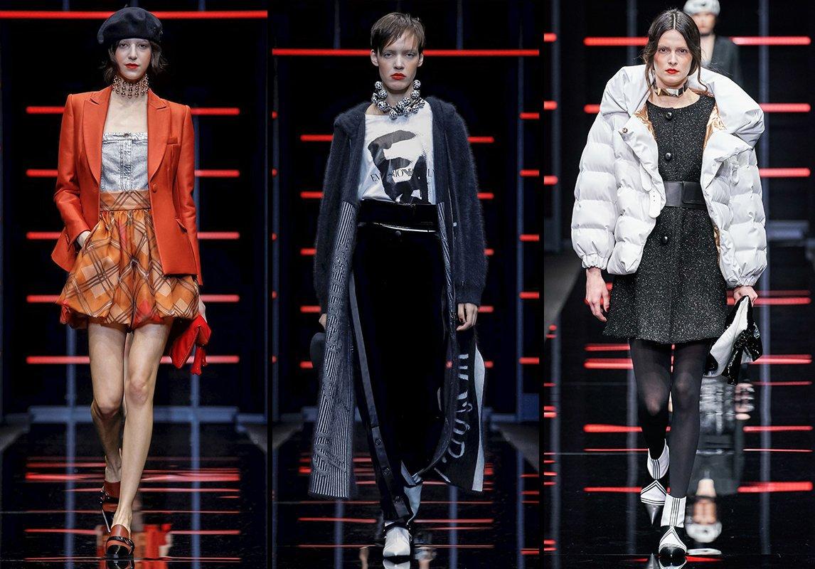 d05d277fd مجموعة Emporio Armani للأزياء الجاهزة لخريف 2019 ضمن أسبوع الموضة في ميلانو