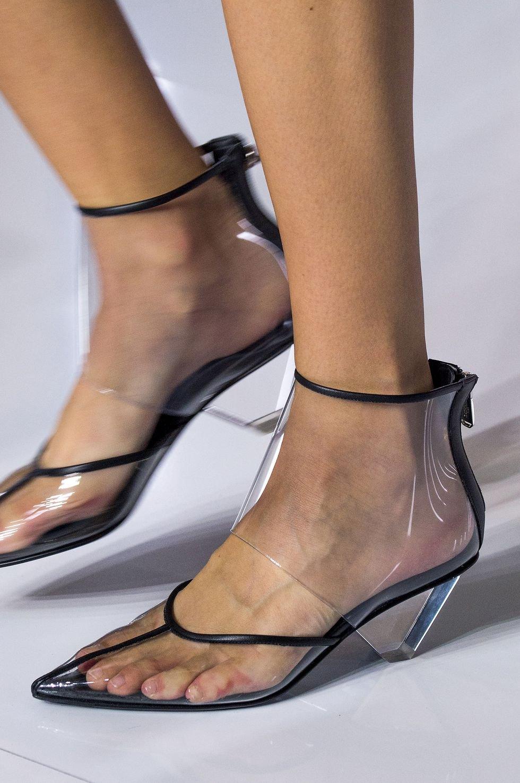 d339cf168 Atlein shoes حذاء احذية رائجة ربيع 2019 plastic احذية بلاستيكية balmain  بالمان