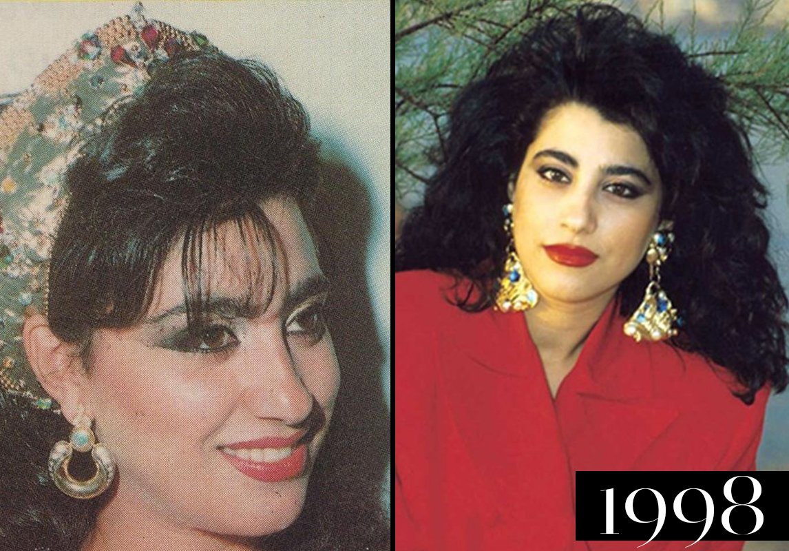 aceca1e99697d مجلة زهرة السوسن - صور نجوى كرم  كيف تطوّر جمالها عبر السنين... آخر ...