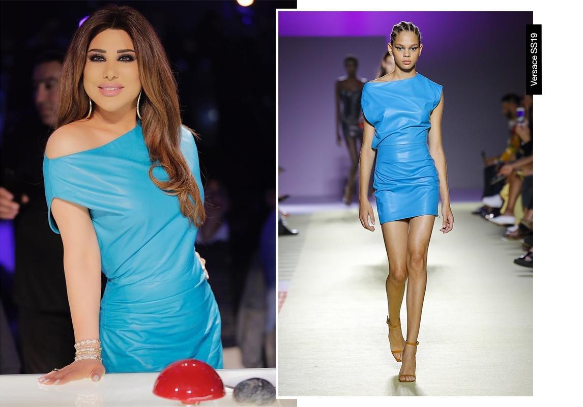 7d5defe8a مجلة زهرة السوسن - إطلالات نجوى كرم في الموسم السادس من Arabs Got Talent