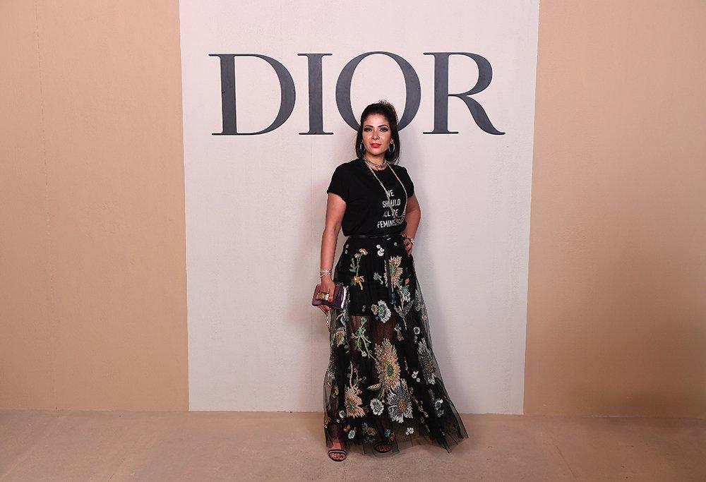 b6f07e03fd92c مجلة زهرة السوسن - أبرز إطلالات النجمات خلال عرض Dior لمجموعتها ...