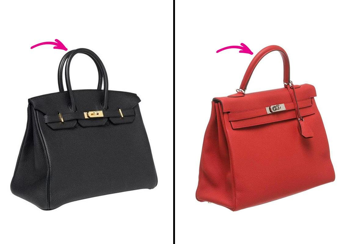 e8d3f66026d2a مجلة زهرة السوسن - حقيبتا Kelly وBirkin من Hermès  هذه هي نقاط اختلافهما