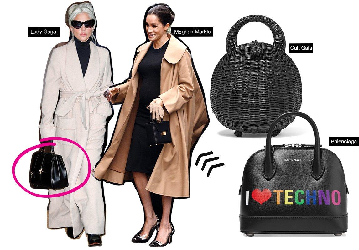 6427425c6720f 6- Top Handle Bag نعشق هذه الحقيبة العملية التي تحملينها على شكل سلة،  ستحصلين على إطلالة سيدة الأعمال العصرية.