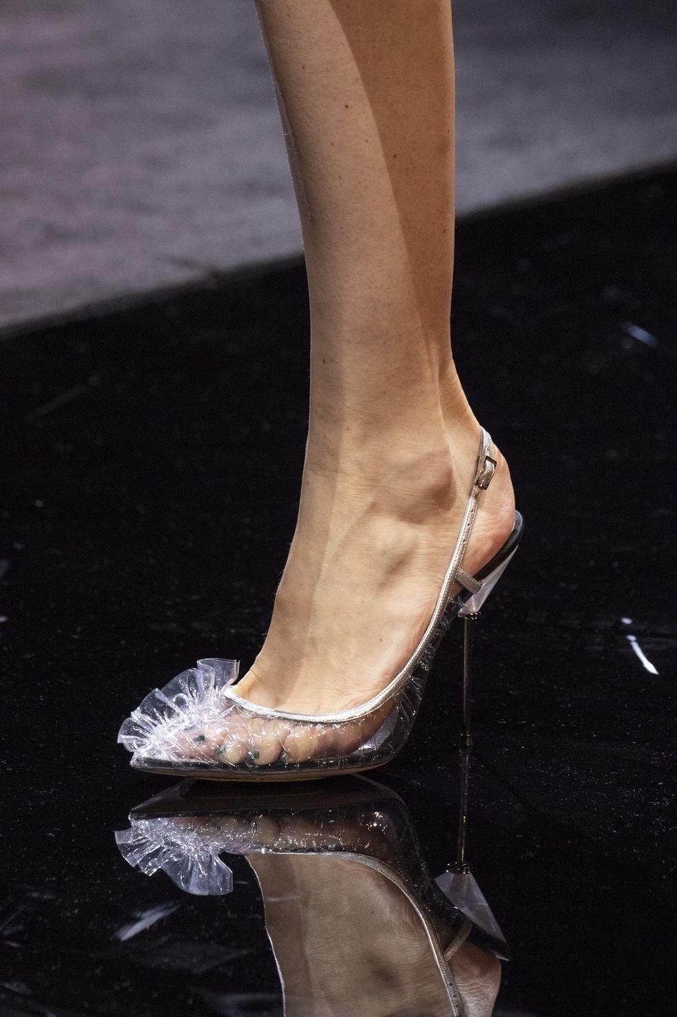 0cd1d4ffe Chanel shoes حذاء احذية رائجة ربيع 2019 plastic احذية بلاستيكية giorgio  Armani جورجيو ارماني