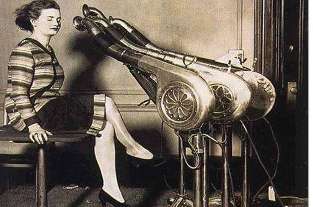 مراحل تطور مجفف الشعر صور السيشوار منذ 100 عام