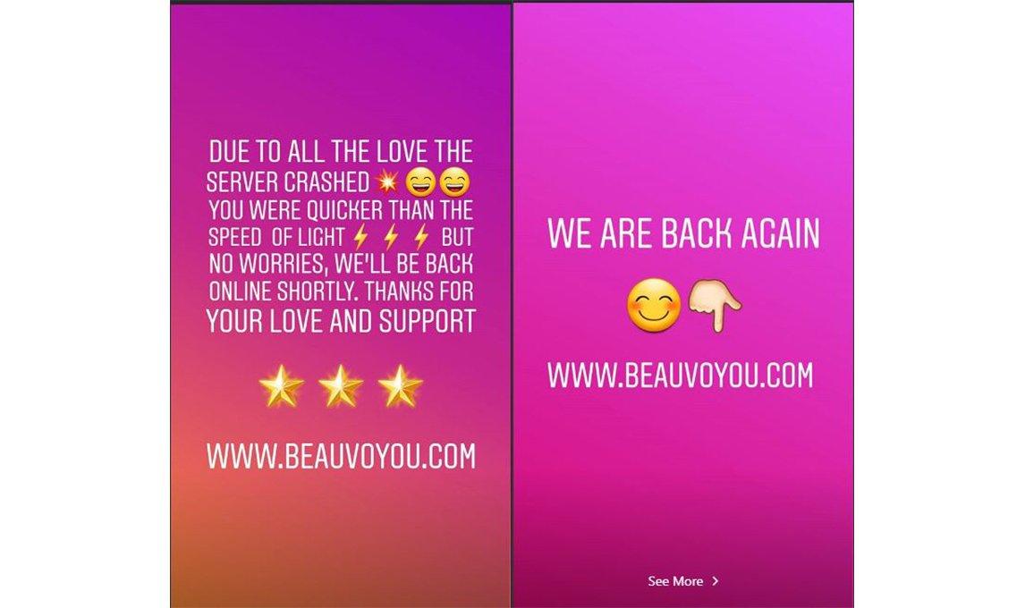 4f6e7501b77df مجلة زهرة السوسن - هيفاء وهبي تطلق علامتها التجارية الجديدة Beau Voyou