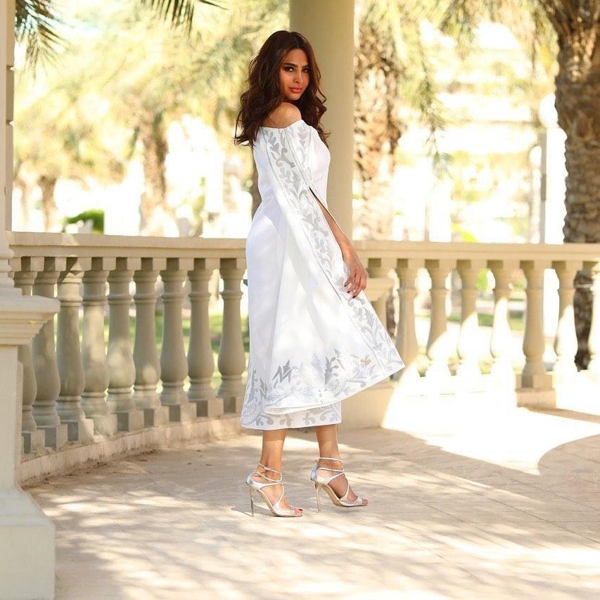 edeb6db19bb6d مجلة زهرة السوسن - إطلالات الفاشينيستا العربيات خلال رمضان 2019