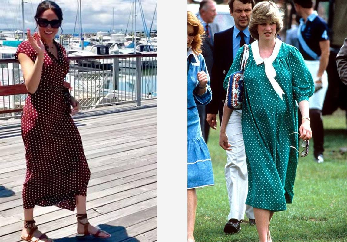 ميغان ماركل الأميرة ديانا