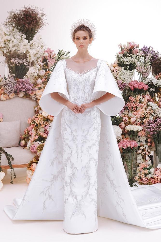 فستان عروس فستان زفاف فساتين زفاف فساتين عرس صيف 2021 رامي العلي Rami Al Ali
