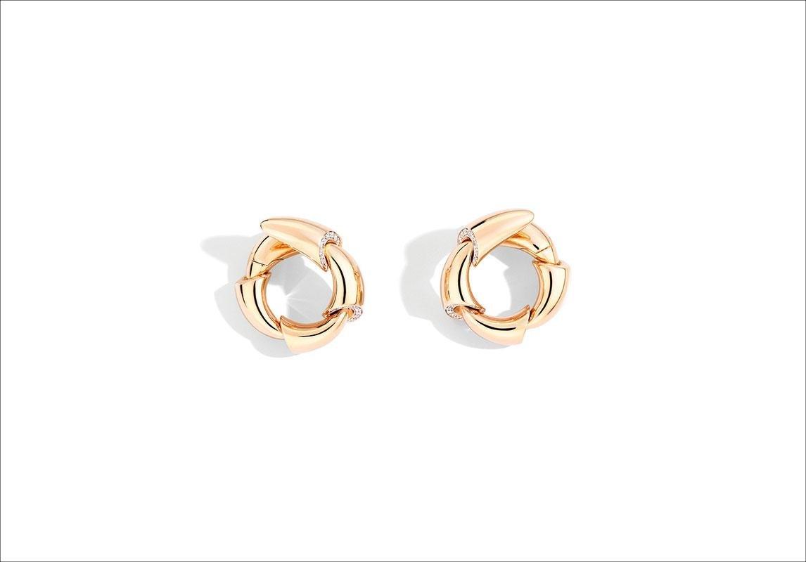 صور مجوهرات أقراط VHERNIER Calla Earrings