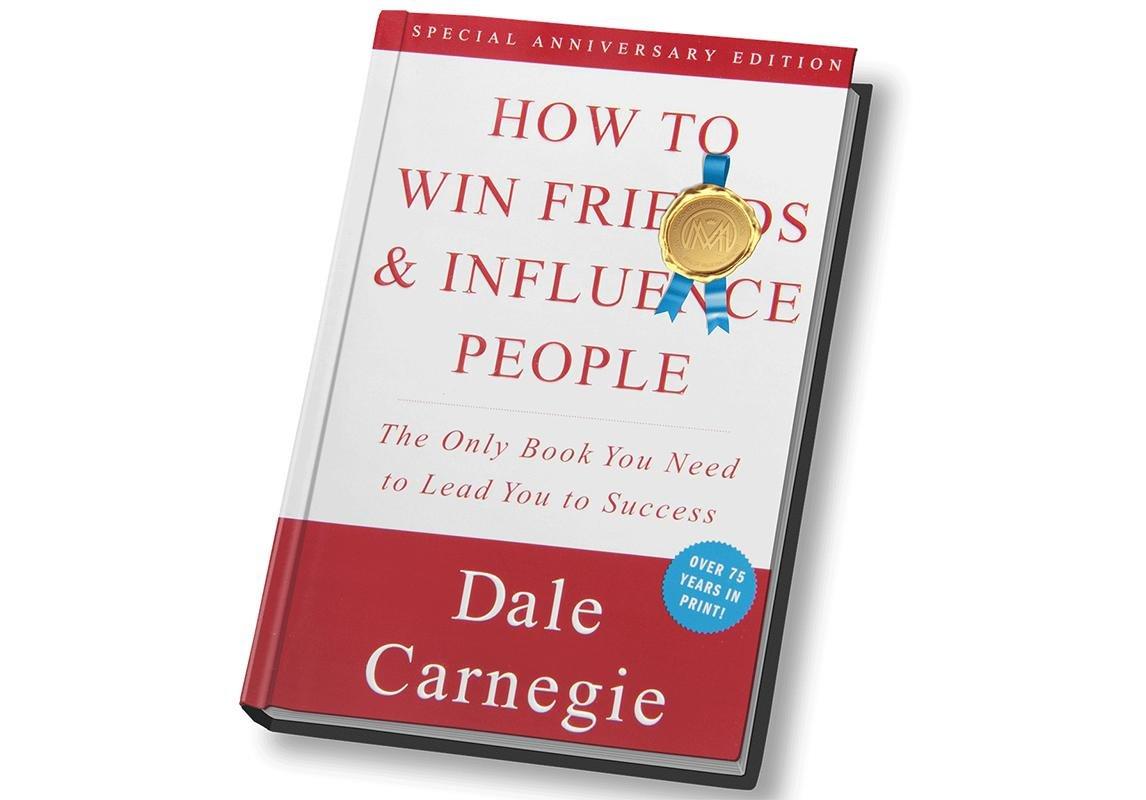 كتاب كيف تكسب الأصدقاء وتؤثر في الناس